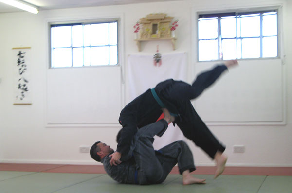Jujutsu Training in Nottingham